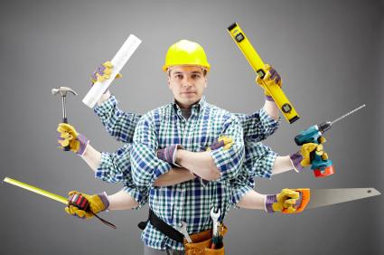fixing man